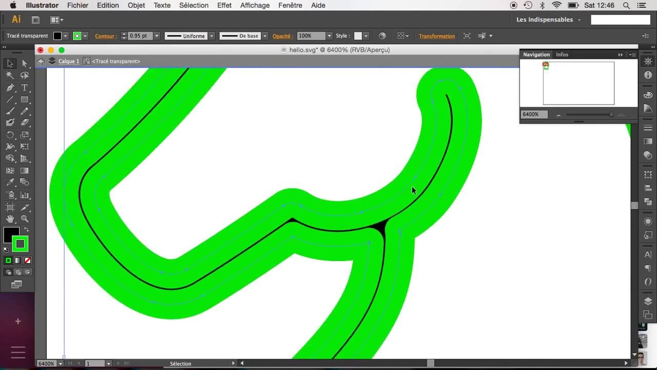 Fill path to stroke in SVG