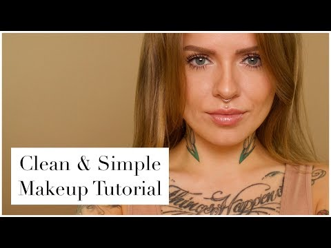 Clean & Simple Makeup Tutorial | Mostly Drugstore