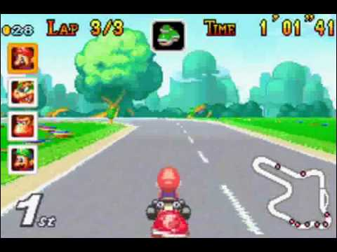 gba mario kart super circuit youtube. Black Bedroom Furniture Sets. Home Design Ideas