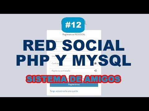 PARTE 12 - SISTEMA DE AMIGOS TIPO FACEBOOK EN PHP MYSQL JAVASCRIPT AJAX | RED SOCIAL