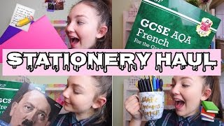 MASSIVE STATIONERY HAUL 2017| Floral Sophia