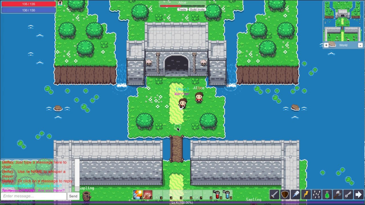 uMMORPG 2D V1 0 - The #1 Unity 2D MMORPG
