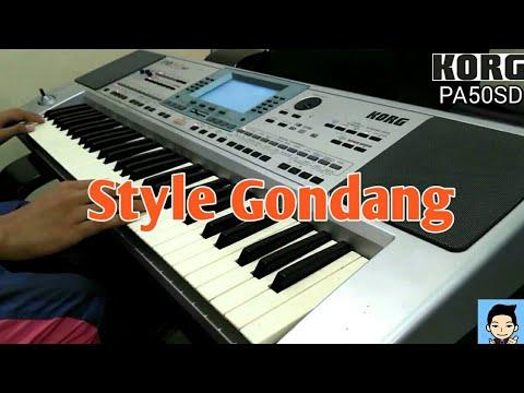 Style Gondang (Sibukka Pikkiran) - Korg PA50SD