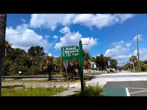 Downtown Titusville, FL and Rails to Trails