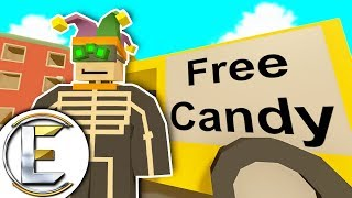 Free Explosive Candy I Mean Really Watch Your Teeth! - Unturned Halloween Roleplay