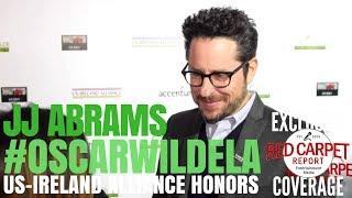 JJ Abrams interviewed at the Oscar Wilde Awards ☘️ at Bad Robot #OscarWildeLA 