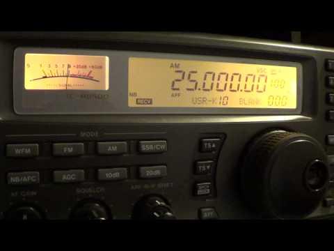 WWV time signal back on 25 Mhz