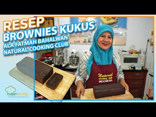 Resep Brownies Kukus ala Fatmah Bahalwan dari Natural Cooking Club, Mudah Banget Buatnya!