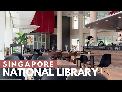 Explore National Singapore Library with me
