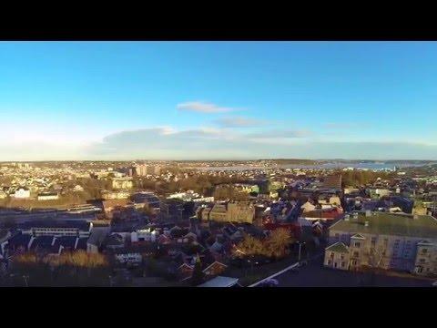 Tønsberg droneview