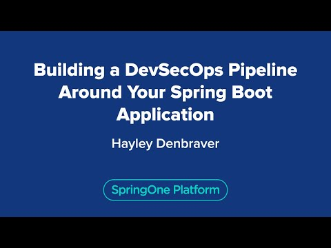 Simon Maple: Building a DevSecOps pipeline around your Spring Boot application