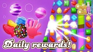 Candy Crush Soda Saga: Daily Rewards!
