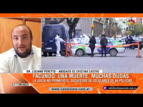 La jueza del Caso Facundo Castro no permitió el secuestro de celulares de 46 policías