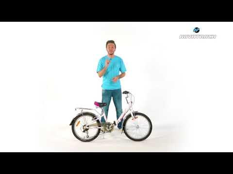 """Скоростной велосипед Novatrack Ancona 20"""" 2018"""