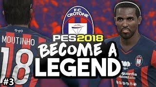 BECOME A LEGEND! #3 |PES 2018! |
