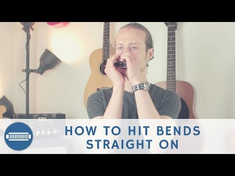 Download How to hit your blues harmonica bends straight on - Beginner Harmonica Lesson