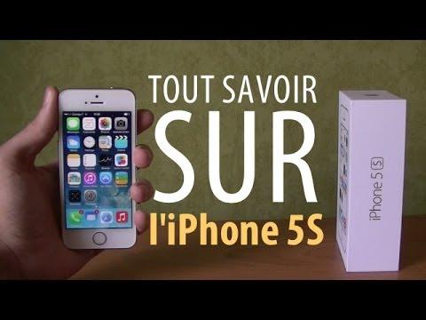 Tout savoir sur l'iPhone 5S (Version longue)