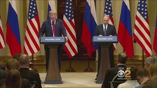 Pres. Trump and Russian Pres. Putin Meet For Helsinki Summit