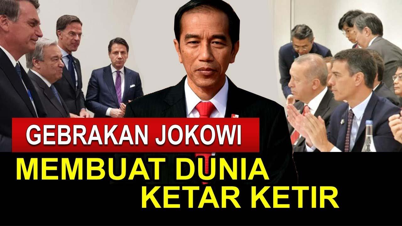 Download GEBRAKAN JOKOWI BIKIN DUNIA KETAR KETIR