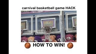 MONTGOMERY COUNTY FAIR REVIEW!! 2018 carnival basketball game HACK