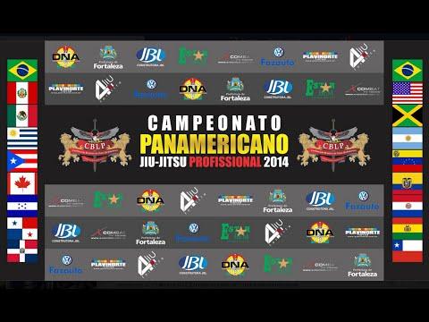CAMPEONATO PANAMERICANO DE JIU JITSU PROFISSIONAL 2014 - Dia 01
