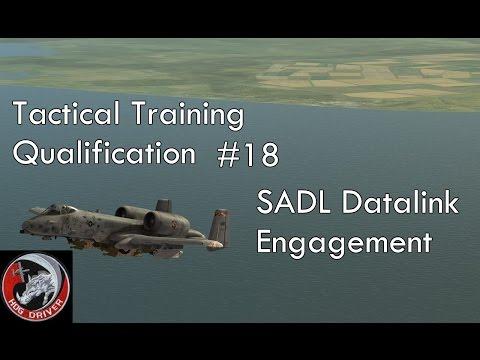 DCS - A10c - Tactical Training Qualification - 18 - SADL Datalink Engagement
