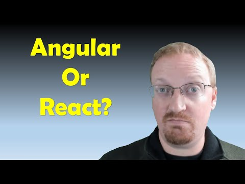 React vs. Angular - Which is better between react js and angular 7 for a developer? thumbnail