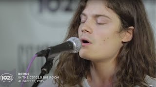 "BØRNS ""Moonage Dream"" Live in the CD102.5 Big Room"