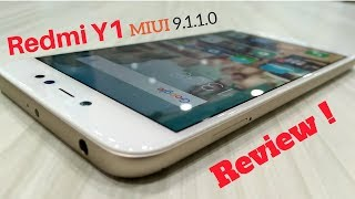 Xiaomi Redmi Y1 Selfie ( MIUI 9.1.1.0) full Review | Hindi