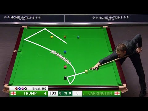 Best Exhibition Snooker Shots Of 2018