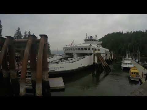 Snug Cove , Bowen Island - Arrivals and Departure