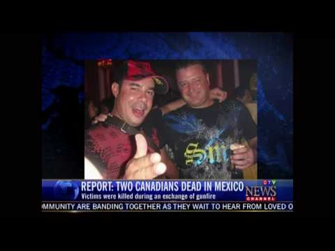 Canadians Killed in Mexico CTV News Channel