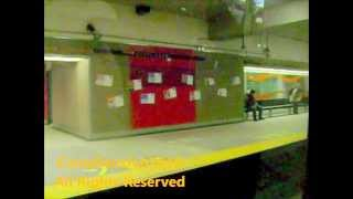 Montreal Metro Orange Line Montmorency MR73 Part 3/6 HD