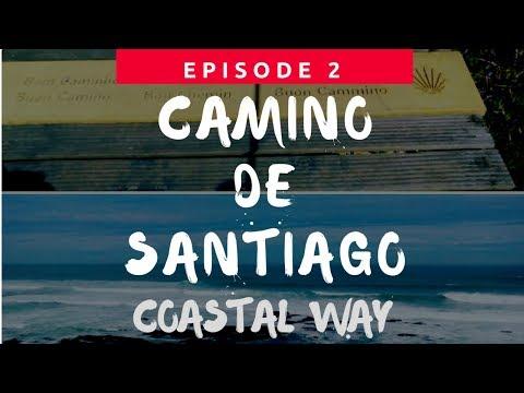 Camino Portugues Day 1 Coastal Way