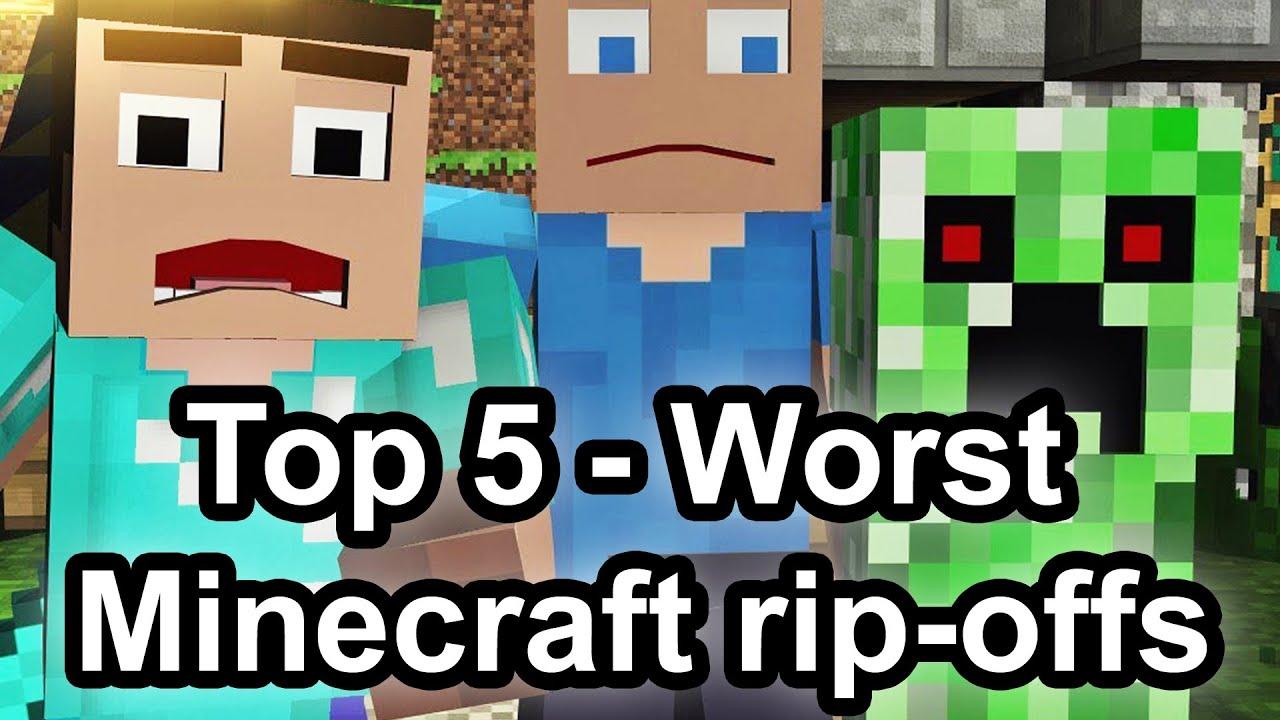 Top 11 - Worst Minecraft rip-offs