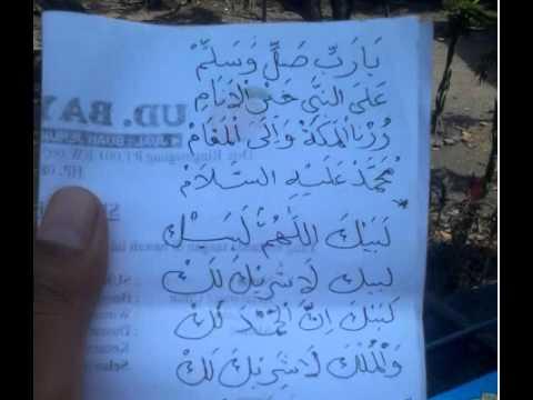 Syiir Shalawat Haji Untuk Mengiringi Jamaah Haji