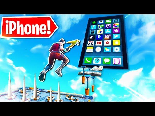 *Neu* iPhone Deathrun Parkour in Fortnite!