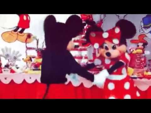 Dja animazione bambini festa a tema minnie e topolino youtube