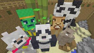 Minecraft Xbox - GIANT Panda - Hide and Seek