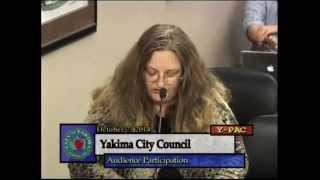 City Council Read Declaration. By Woman they