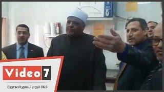 بالفيديو.. عباس شومان ورئيس جامعة الأزهر يتفقدان معامل وأجهزة كلية الصيدلة
