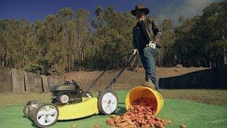Lethal Lawn Mowers MiniMyth   MythBusters