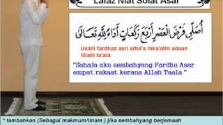 hm@Muslim-Lafaz Niat Solat 5 Waktu®