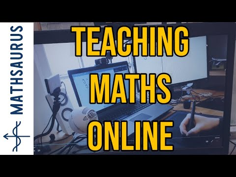 Teaching maths online