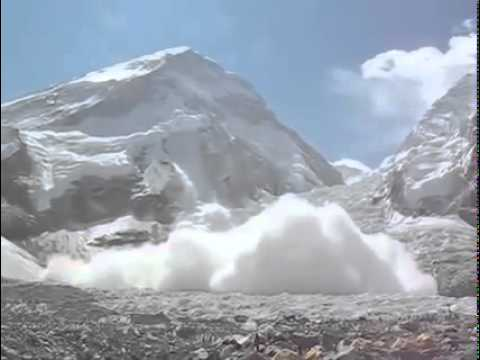 Earthquack in Mt. Everest