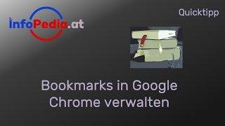 Google Chrome Lesezeichen Bookmarks hinzufügen und verwalten