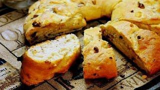 Луково Ореховый Хлеб.Очень Простой и Вкусный Рецепт
