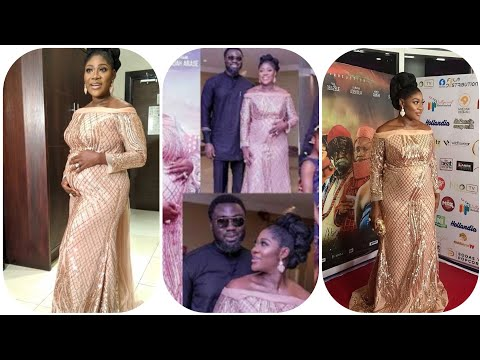 Mercy Johnson And Her Family At Her Movie Premiere The Legend Of Inikpi 2020.