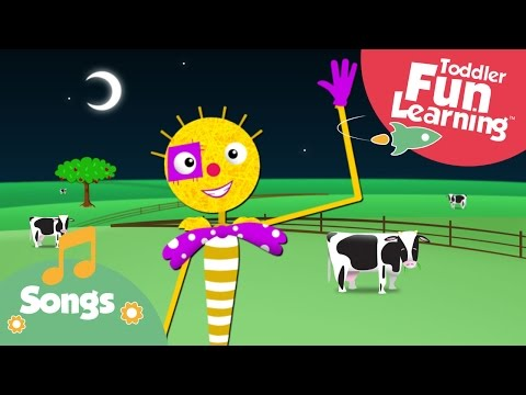 Dingle Dangle Scarecrow | Actions Song for Toddlers