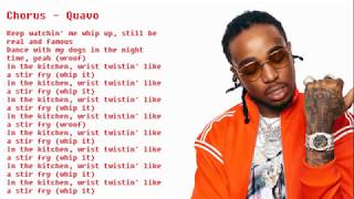 Migos Stir Fry CLEAN and with lyrics